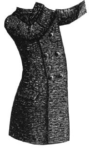 1888 Spring Overcoat for Boy 6-8 Years Pattern