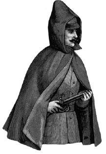 1891 Gentleman's Russian Storm Cape Pattern