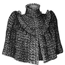 1892 Crochet Cape Pattern