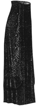 1912 Black Satin Skirt Pattern