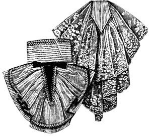 1912 2 Lace Jabots Pattern