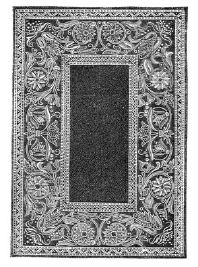 1891 Swedish Embroidery Rug Pattern