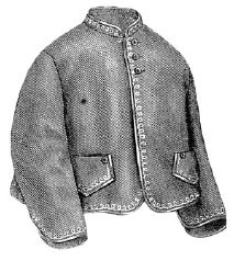 1870 Jacket for Girl 4-6 Years Pattern