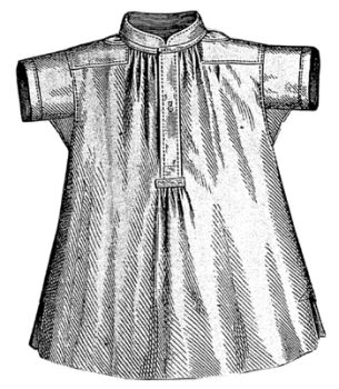 1869 Short Sleeved Shirt for Boy 4-6 Years Pattern