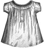1869 Chemise for Girl 12-14 Years Pattern