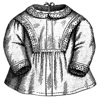 1869 Infant's Piqué Jacket Pattern