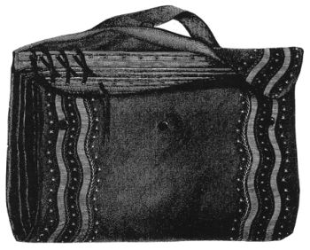 1868 Traveling Bag Pattern