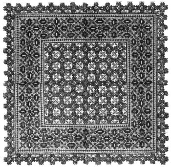 1887 Table Mat Pattern
