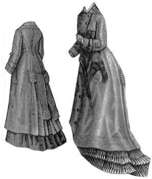 1876 Vigogne Traveling Cloak Pattern