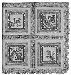 1894 Tea Cloth Pattern