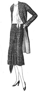 1930 3/4 Jacket & Skirt Pattern