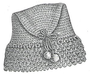 1889 Crochet Fez for Little Boy Pattern/Instructions