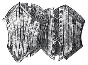 1894 Short Summer Corset Pattern