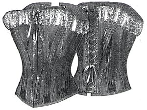 1894 Cambric Summer Corset Pattern