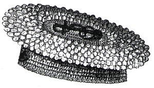 1894 Crochet Yachting or Tennis Cap Pattern