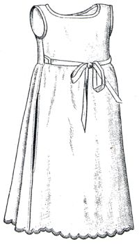 1894 Baby's Barrow Coat Pattern