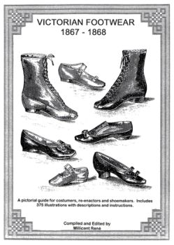 1867-1899 Victorian Footwear Book By Millicent René