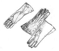 Women's Leather Gloves Pattern