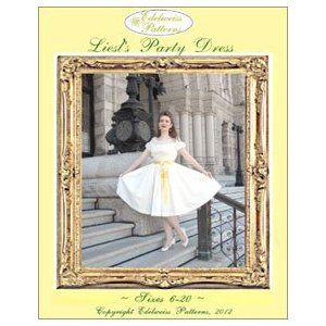 Liesl's Party Dress Pattern � A Sound of Music Costume Sewing Pattern