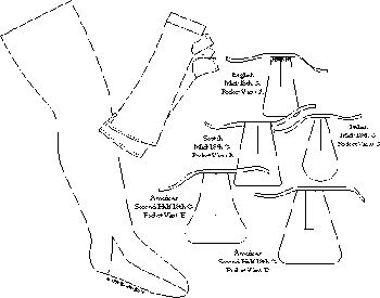 Stockings, Pockets & Mitts Pattern