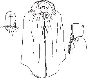 Woman's Short Cloak Pattern