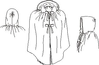 Girl's Short Cloak Pattern