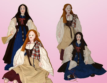 "Highlander Doll clothing for 26"" Soft Body"