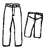 Boys Button Fly Pants Pattern