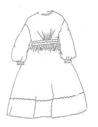 1860s Girls' Everyday Dress Pattern