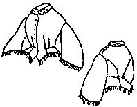 1800s Day Bodice Pattern