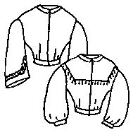 1800s Basic Bodice Pattern