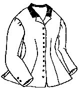 1860's Riding Habit Jacket Pattern