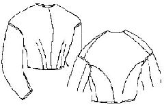 1850s to 1860s Fitted Bodice Pattern