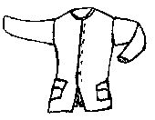 1770's Civilian Coat Pattern