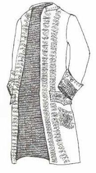 18th Century Dress Coat Pattern