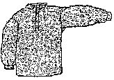 1800s Western or Civil War Era 3 Button Shirt Pattern