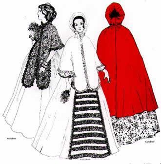 Ladies Cloaks Pattern