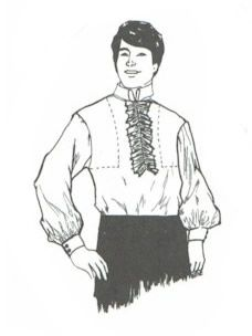 1776 Shirt Pattern for Men and Boys