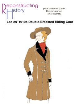 1910s Ladies' Double-Breasted Riding Coat Pattern