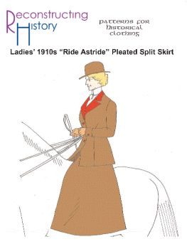 Ride Astride Pleated Skirt Pattern