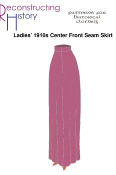 1910's Peg-Top Skirt Pattern