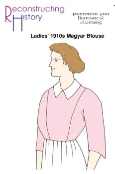 1910s Magyar Blouse Pattern by Reconstructing History