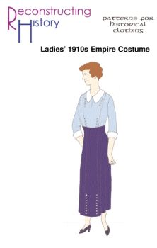 1910's Lady's Empire Costume Pattern