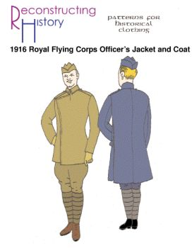 1916 Royal Flying Corps Officer's Jacket and Coat Pattern