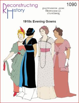 "1910s Evening Gown ""Titanic Gown"" Pattern"