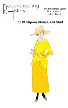 1922 Slip-on Blouse with Skirt Pattern