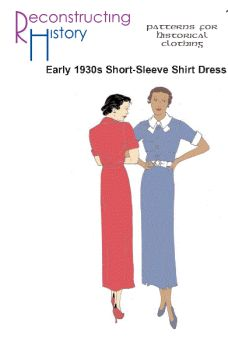 1930s Short Sleeve Day Dress Pattern