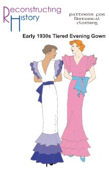 1930s Evening Gown Pattern