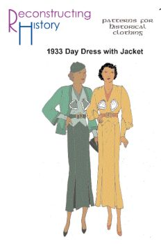 1933 Day Dress with Jacket Pattern
