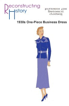 "1930s One-Piece ""Business"" Dress Pattern"